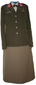DT dames sergeant Militaire Administratie